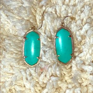 Kendra Scott 'Elle' earrings in turquoise